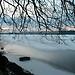 Pilsensee Oberbayern im Winter (B20080103_bmw42_0007) - Pilsensee, Ufer, Winter,Natur, 10.01.2009, Winter, Blick auf Häuser des Ortes Hechendorf