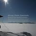 Herzogstand Walchensee (100214bmw42_IMG_5885) - 14.02.2010; über den Wolken auf dem Herzogstand in Oberbayern mit Blick auf das Wolkenmeer und die Bergspitzen