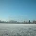 Wesslinger See Oberbayern im Winter (20090110_bmw42_DSCN0064) - Wesslingersee, Weßling, Ufer, Winter, Schilf, Natur, 10.01.2009, Winter, Blick auf Häuser des Ortes