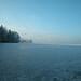 Pilsensee Oberbayern im Winter (20090110_bmw42_DSCN0091) - Pilsensee, Ufer, Winter,Natur, 10.01.2009, Winter, Blick auf Häuser des Ortes Hechendorf
