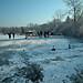 Wörthsee Oberbayern im Winter (20090110_bmw42_DSCN0106) - Wörthsee Ufer und Eisfläche, Winter,Natur, 10.01.2009, Winter,