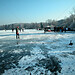 Wörthsee Oberbayern im Winter (20090110_bmw42_DSCN0109) - Wörthsee Ufer und Eisfläche, Winter,Natur, 10.01.2009, Winter,
