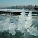 Wörthsee Oberbayern im Winter (20090110_bmw42_DSCN0115) - Wörthsee Ufer und Eisfläche, Winter,Natur, 10.01.2009, Winter,