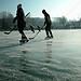 Wörthsee Oberbayern im Winter (20090110_bmw42_DSCN0131) - Wörthsee Ufer und Eisfläche, Winter,Natur, 10.01.2009, Winter,