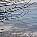 frozen lake  (B101216_2413 - Kopie) - frozen water on starnberger see