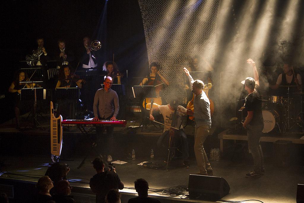 Technikum Bandsintown (B170515IMG_5125) | Konzert im Technikum in München am 15.05.2017 mit einshoch6 und dem Kammerorchester München. | band, münchen, technikum, einshoch6, kammerorchster