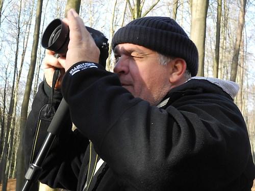 Robert beim Shooting
