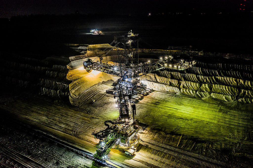 Tagebau Hambach 1 Nacht