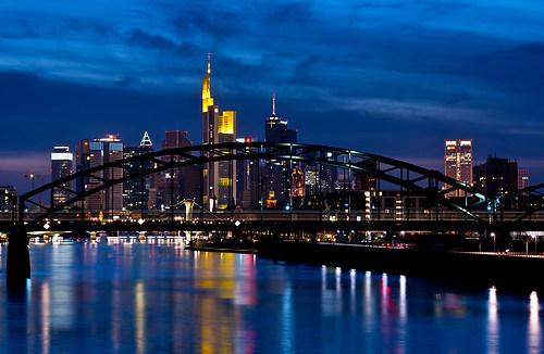 Frankfurt City Skyline (Frankfurt Skyline)