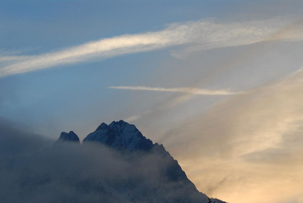 Zugspitze 2964m WINTER 2007