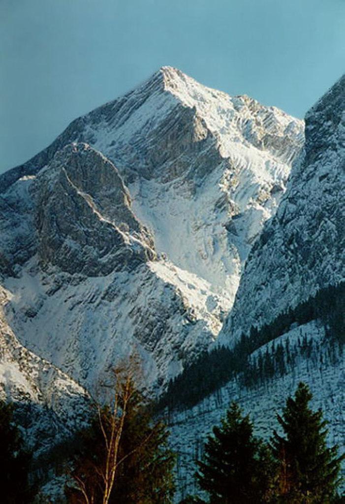 Alpspitze 2628m WINTER 1995
