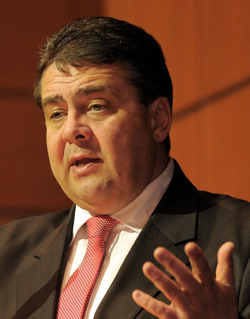Gabriel 2 (Gabriel Sigmar IDSTEIN 2011 2) | AZ Wiesbaden Kreis / Sigmar Gabriel in der Idsteiner Stadthalle