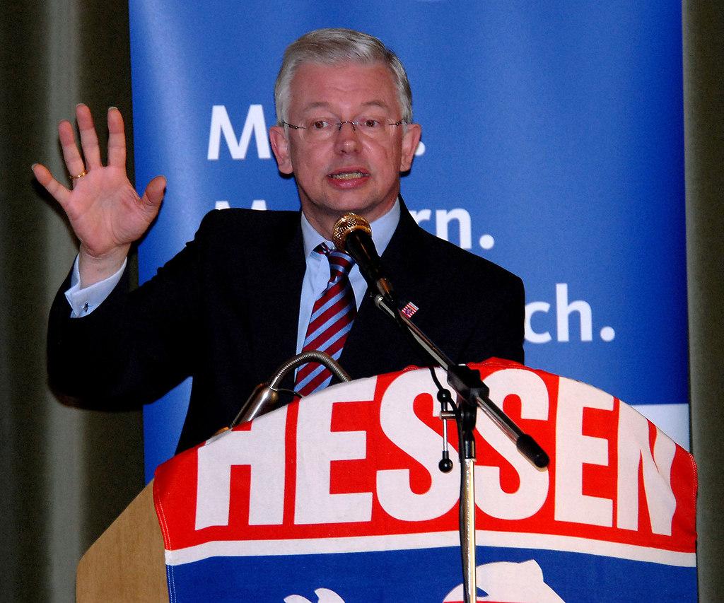 Koch Roland IDSTEIN 2008 | Stichwort : Koch 1*ORT* Idstein*PERSON* Roland KochCOPYRIGHT : PRESSE AGENTUR MALLMANNBILD...