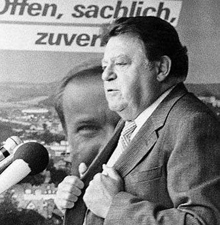 Strauß Franz Josef 1983