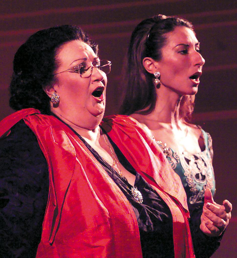 Caballe Montserrat und Tochter Marti WIESBADEN 1999 1 | Stichwort : CABALLE an KULTURSPIEGEL / KULMontserrat Caballé und Tochter Montserrat...