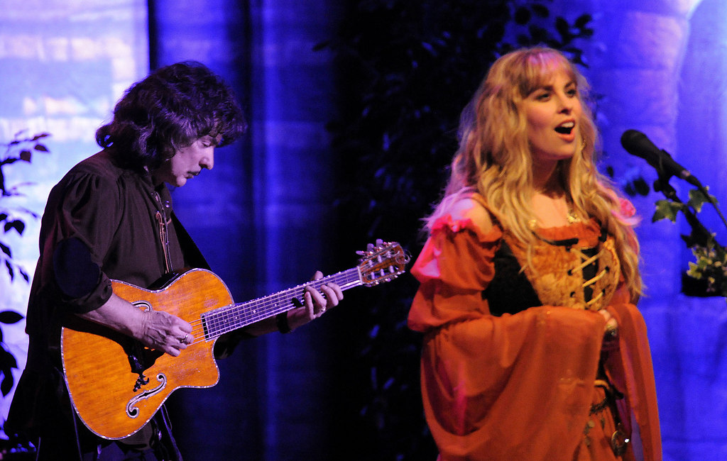 Blackmore 1 (Blackmore Ritchie und Candice Night RMT 2010 1) | AZ Wiesbaden Kultur / Ritchie Blackmore und Candice Night