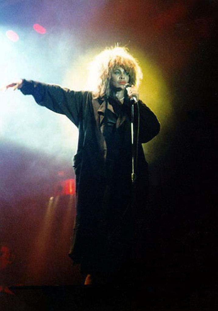 Tina Turner FRANKFURT FESTHALLE 1987 1