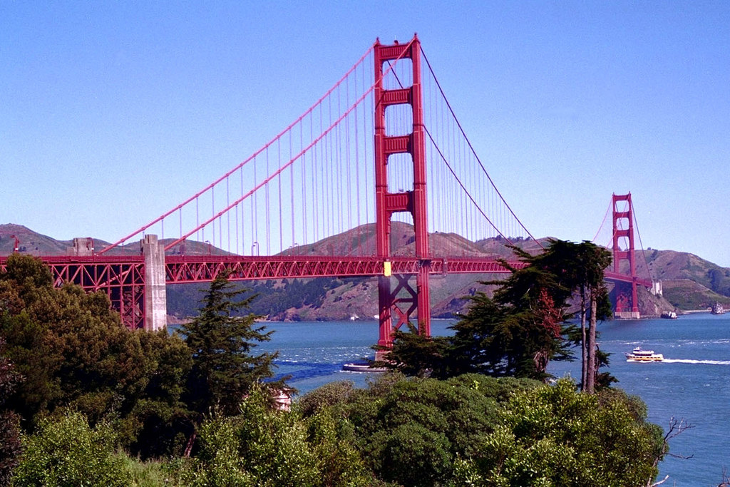 SAN FRANCISCO Golden Gate Bridge 1997 1