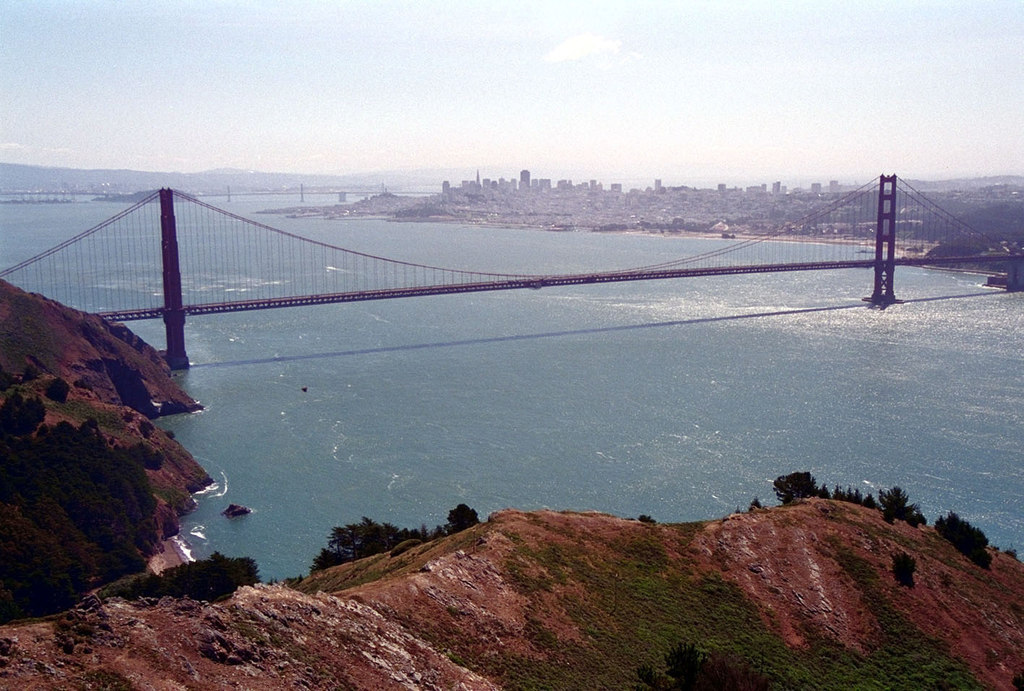 SAN FRANCISCO Golden Gate Bridge 1997 2