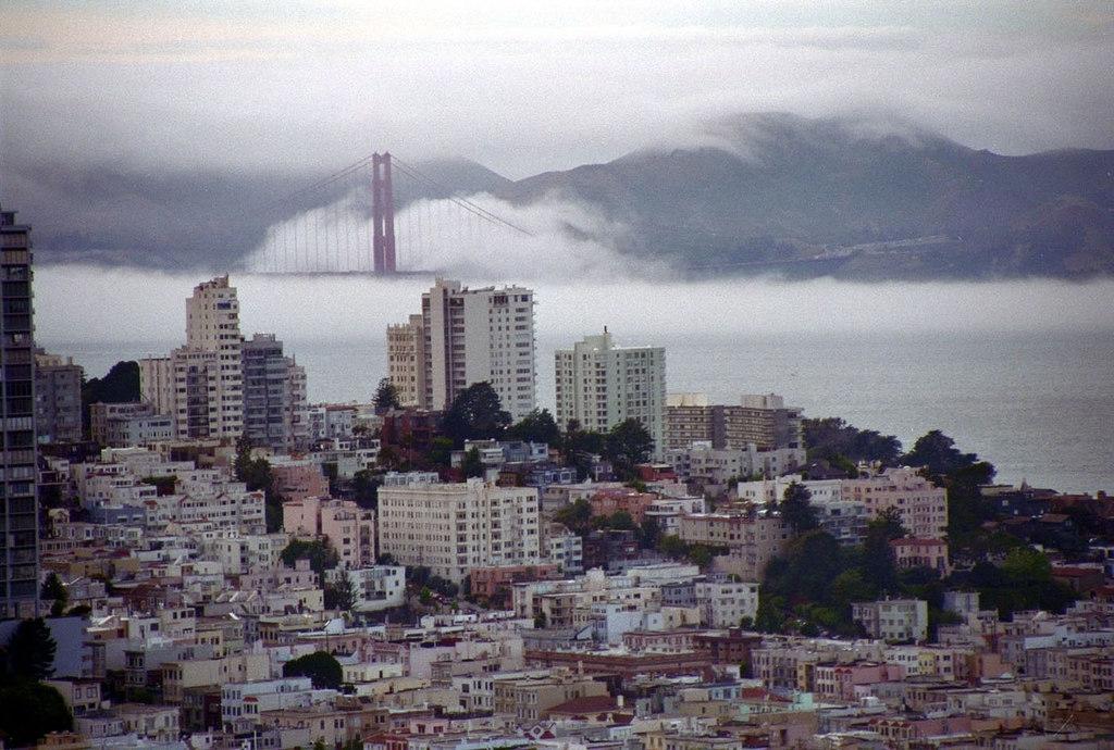 San Francisco Nebelbrücke