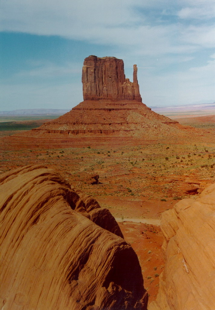 Monument Valley Utah 3 West Mitten Butte