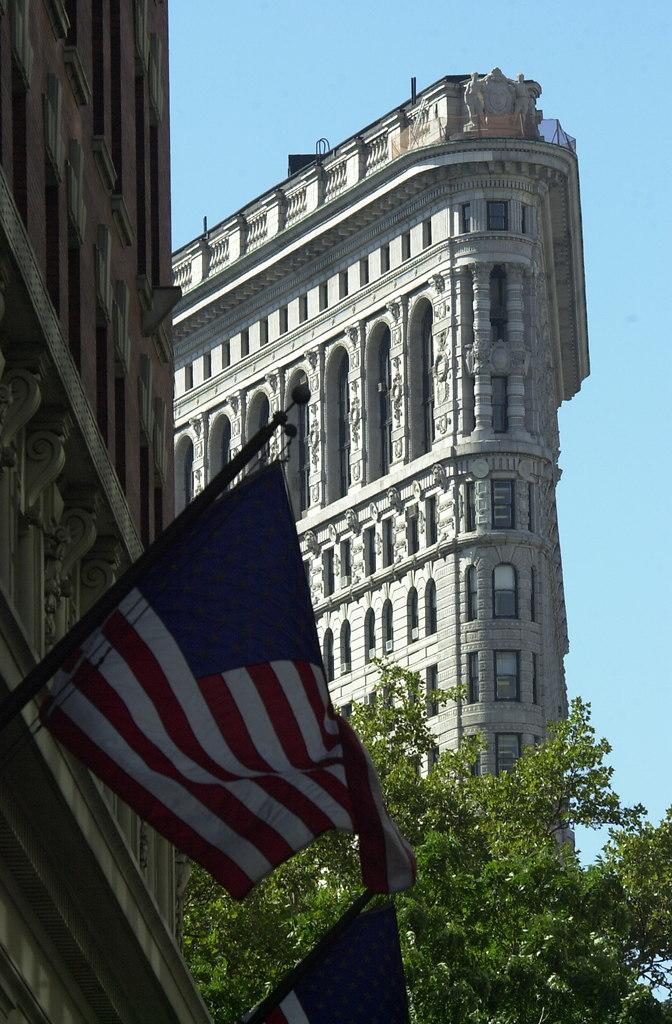 USA 20010928 106 Flatiron ältestes Hochhaus 1903 erbaut