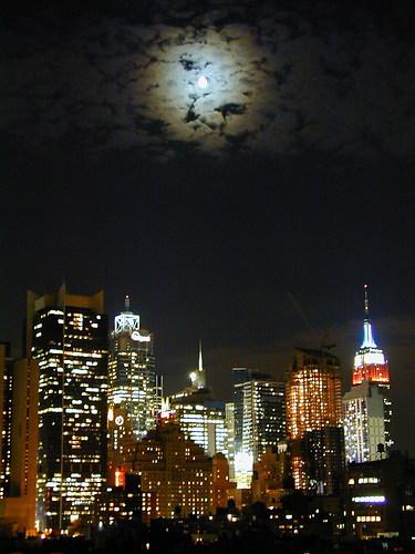 USA 20010927 096 New York bei Nacht