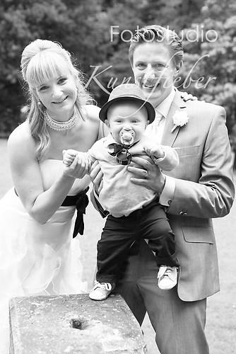 Hochzeit Familienporträt