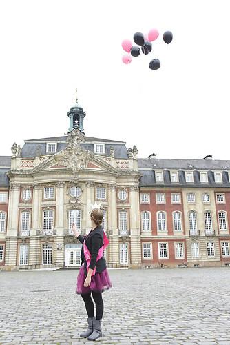 schloss münster ballons