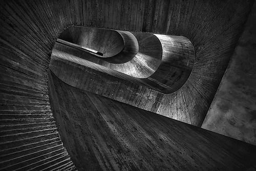 Treppe in Beton