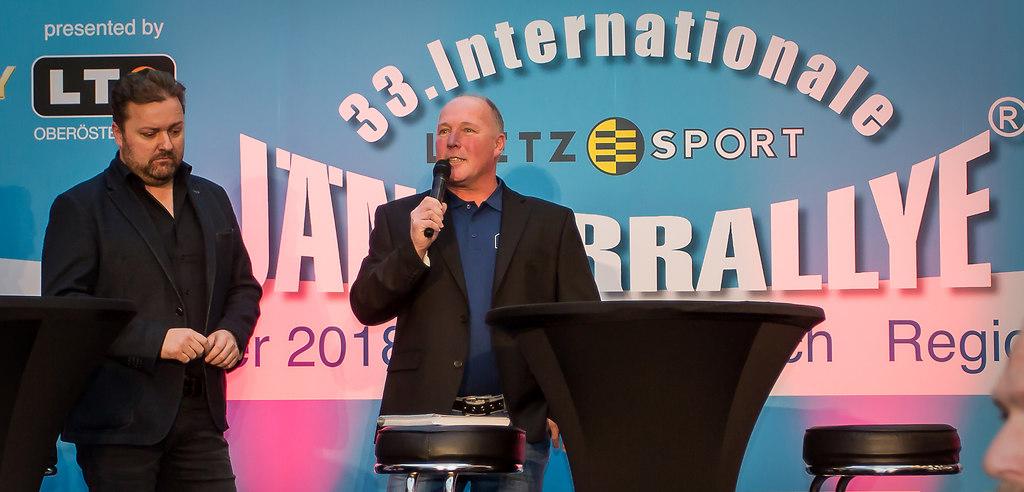 JÄNNER RALLYE PRESSEKONFERENZ (Start) | SPORT, MOTORSPORT, JÄNNER RALLYE PRESSEKONFERENZ , 27-12-2017  IM BILD: MARIO KLEPATSCH , ROBERT... | FORMEL1, MOTO GP, MOTORSPORT
