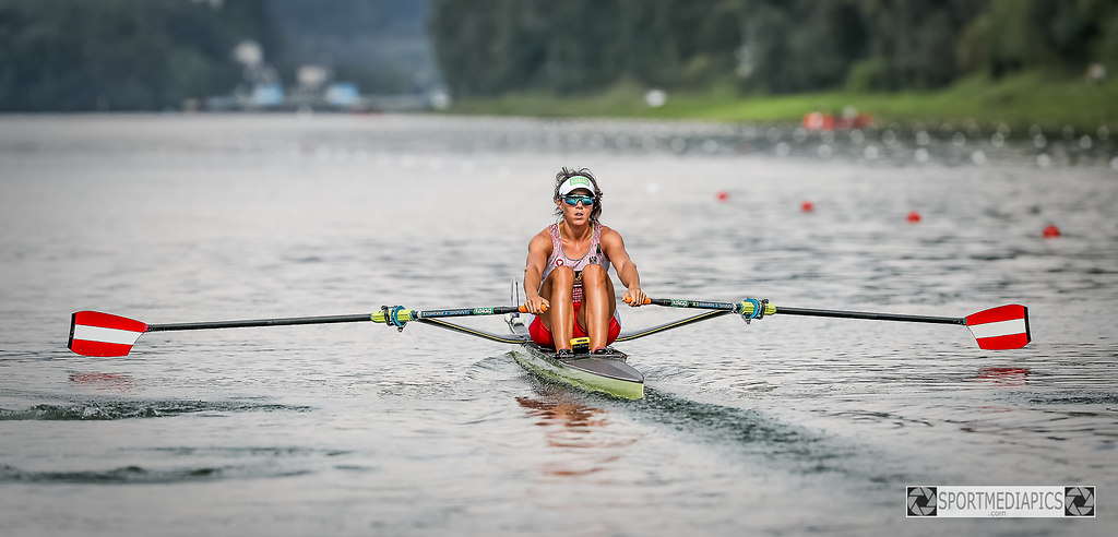 WORLD ROWING CHAMPIONSHIPS 2019 (190825bm_24964) | SPORT,WORLD ROWING CHAMPIONSHIPS 2019  ,08.-01.09.19,  IM BILD: Women's Single Sculls,  LOBNIG... | WORLD ROWING CHAMPIONSHIPS 2019