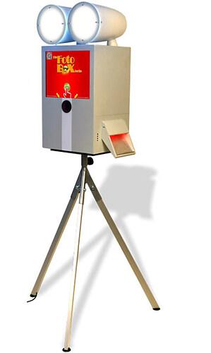 Fotobox mit Drucker