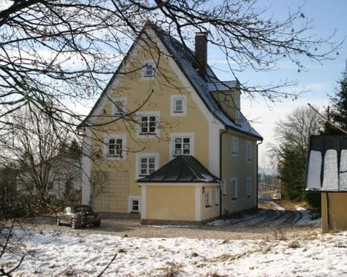 forsthaus oberzwieselau - erster schnee