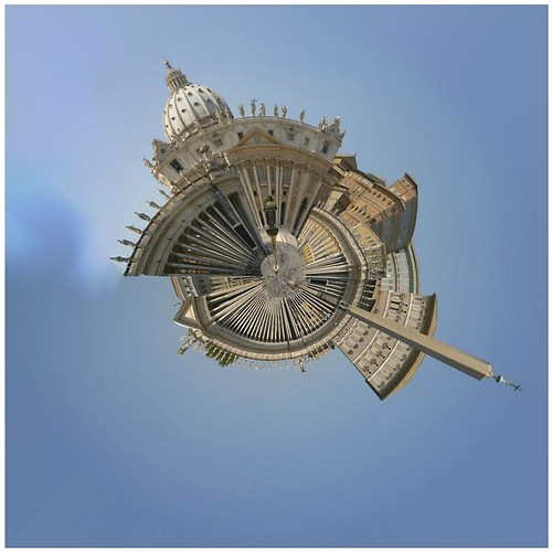 rom #46 - piazza st pietro - lp