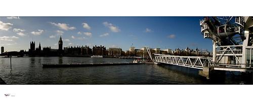 london #13 - houses of parliament & london eye