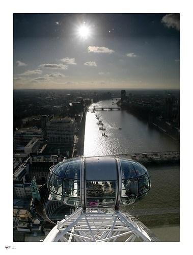 london #21 - river thames & london eye