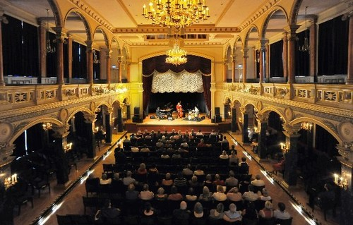 Kultur, Konzert. Dieter Ilg Trio: Otello & Parsifal. Im Bild: Ra (IAN_3711a copy)