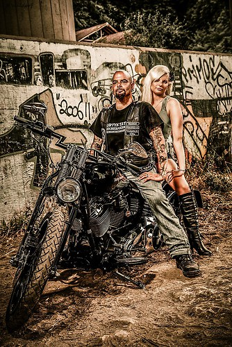 Couple Bike 4