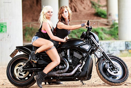 Girls on Bike 2