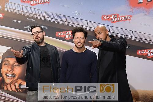 Sido, Fahri Yardim und Tedro Teclerbrhan