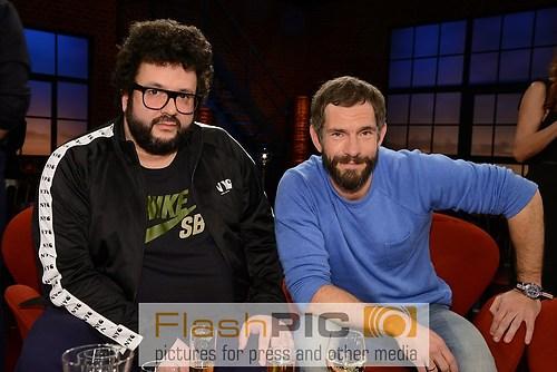 Mickey Beisenherz und Oliver Polak als Gast der WDR Talkshow Koe