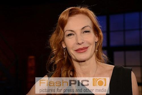 Ute Lemper der Musical Star vom Broadway als Gast der WDR Talksh