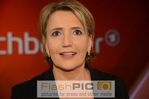 Simone Peter die Bundesvorsitzende von B«90 Gruene lacht als Gas (DSC_0860)