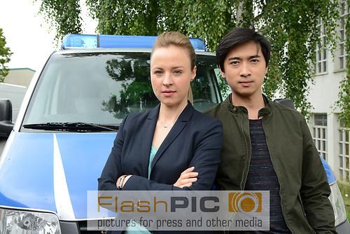 Katja Danowski spielt die Dezernatsleiterin Vicky Adam gemeinsam (DSC_1854)