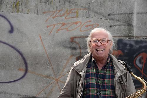 Klaus Dolidnger, der legendaere Jazz-Musiker und bekannte deutsc (DSC_2818)