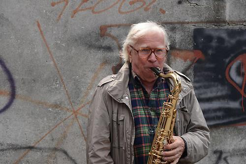 Klaus Dolidnger, der legendaere Jazz-Musiker und bekannte deutsc (DSC_2856)