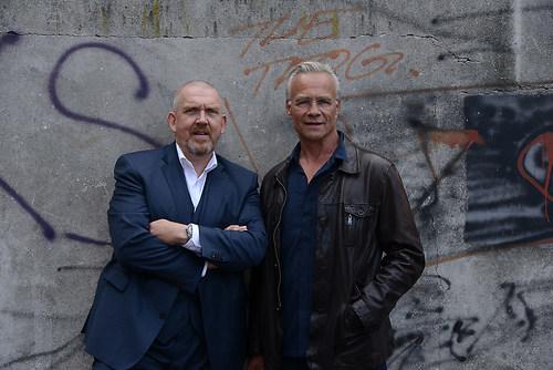 Die Tatort Koeln Kommissare Max Baldauf (Klaus J. Behrendt) und  (DSC_2927)