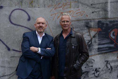 Die Tatort Koeln Kommissare Max Baldauf (Klaus J. Behrendt) und  (DSC_2930)