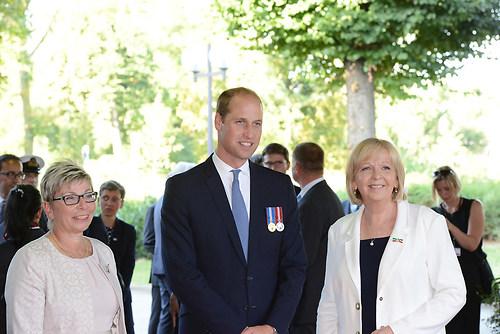 Ankunft des britischen Thronfolgers Prinz William mit NRW Minist (DSC_4268)